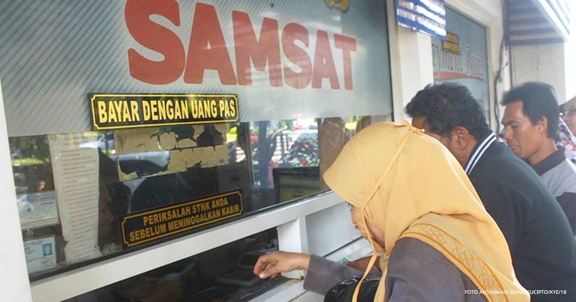 Jangan Telat, Pemutihan Pajak Kendaraan Bermotor Berakhir 30 Desember 2019